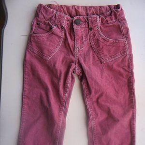 ZARA Pink Pants w Adjustable waist Girl 3-4